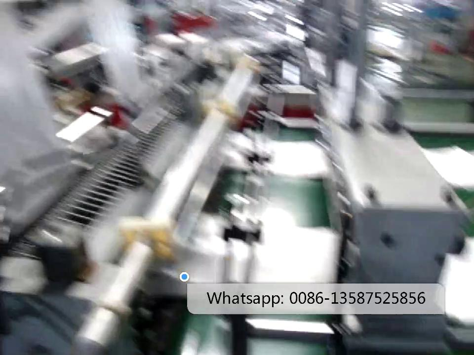 BH-FQ600/800B   Two-layer Heat-sealing Cold-cutting Bag Making Machine